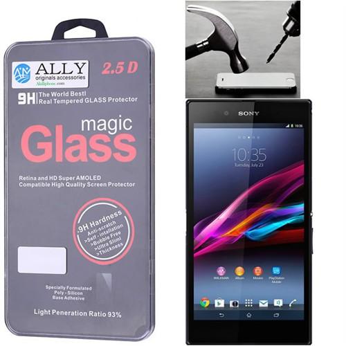 Ally Sony Xperia Z Ultra Xl39 C6802 C6806 C6803 Kırılmaz Cam Ekran Koruyucu