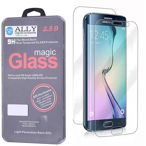 Ally Samsung Galaxy S6 Edge Tempered Kırılmaz Ön Ve Arka Cam Ekran Koruyucu