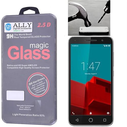 Ally Vodafone Smart Prime Glass Tempered Kırılmaz Cam Ekran Koruyucu