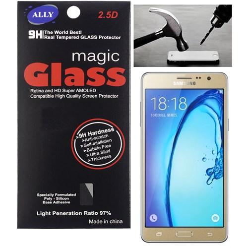 Ally Samsung Galaxy On5 Kırılmaz Cam Ekran Koruyucu