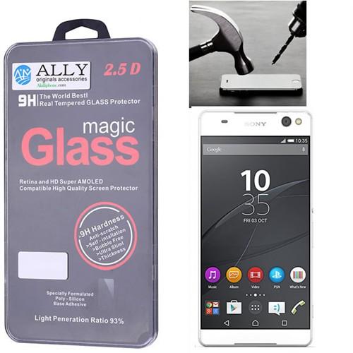 Ally Sony Xperia C5 Ultra Kırılmaz Cam Ekran Koruyucu