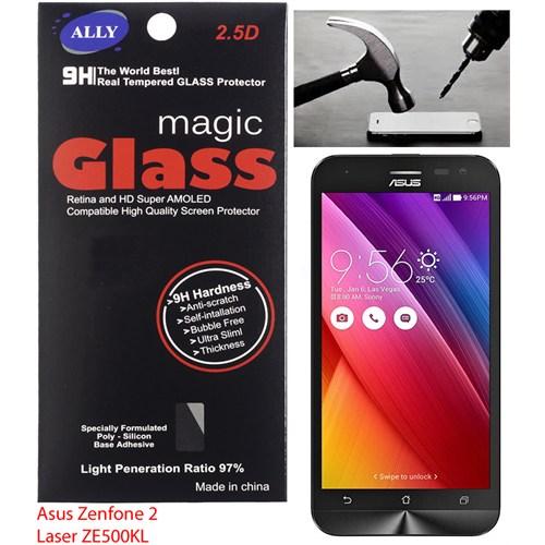 Ally Asus Zenfone 2 Laser Ze500kl 5.0 İnch Kırılmaz Cam Ekran Koruyucu