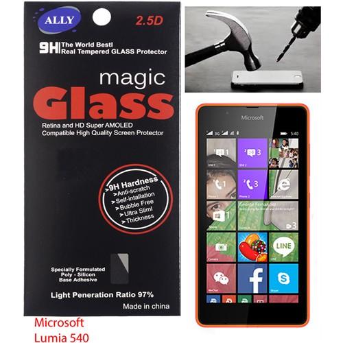 Ally Microsoft Lumia 540 Kırılmaz Cam Ekran Koruyucu