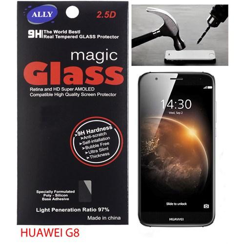 Ally Huawei G8 Tempered Kırılmaz Cam Ekran Koruyucu