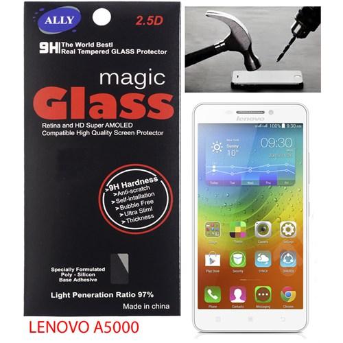Ally Lenovo A5000 Tempered Kırılmaz Cam Ekran Koruyucu