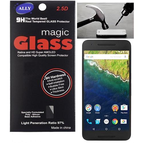 Ally Huawei Nexus 6P Kırılmaz Cam Ekran Koruyucu