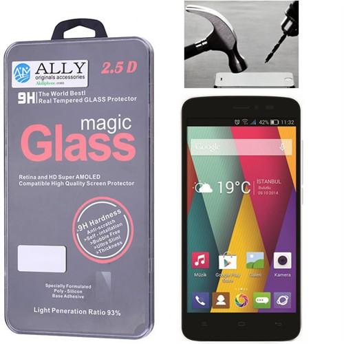 Ally General Mobile Discovery 2 Mini Kırılmaz Cam Ekran Koruyucu