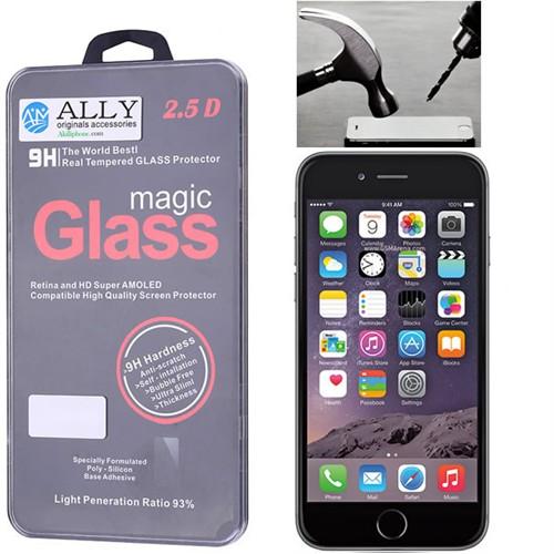 Ally Apple İphone 6 Plus/İphone 6S Plus Kırılmaz Cam Ekran Koruyucu