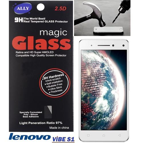 Ally Lenovo Vibe S1 Tempered Kırılmaz Cam Ekran Koruyucu