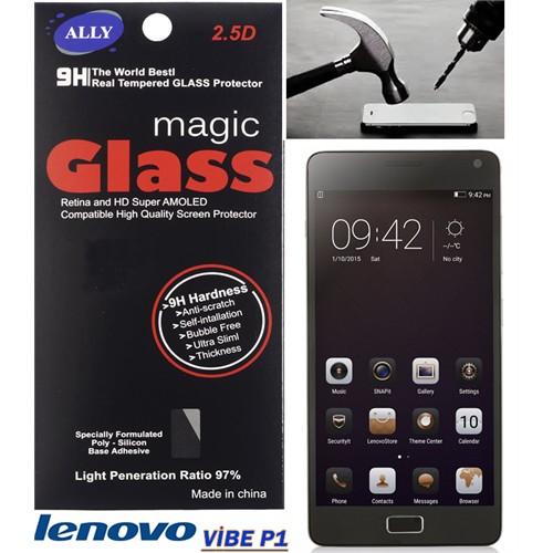 Ally Lenovo Vibe P1 Tempered Kırılmaz Cam Ekran Koruyucu