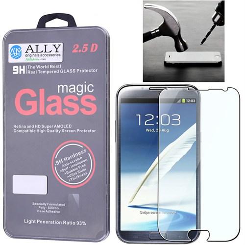 Ally Galaxy Note 2 N7100 Kırılmaz Cam Ekran Koruyucu