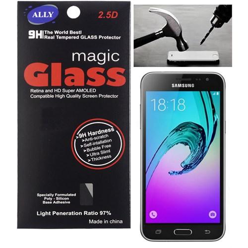 Ally Samsung Galaxy J3 Kırılmaz Cam Ekran Koruyucu