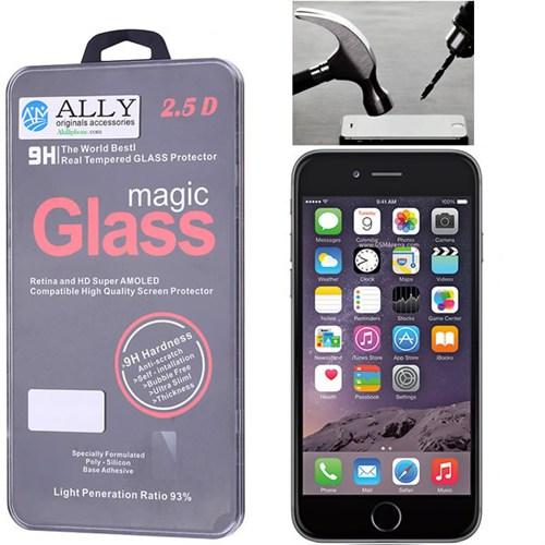 Ally İphone 6 - 6S Kırılmaz Cam Ekran Koruyucu