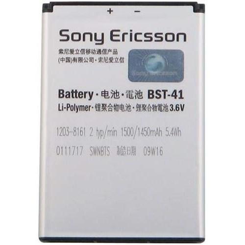 Ally Sony Bst-41 R800 X1 X10 X2 A8i M1i X10i X2i Pil Batarya