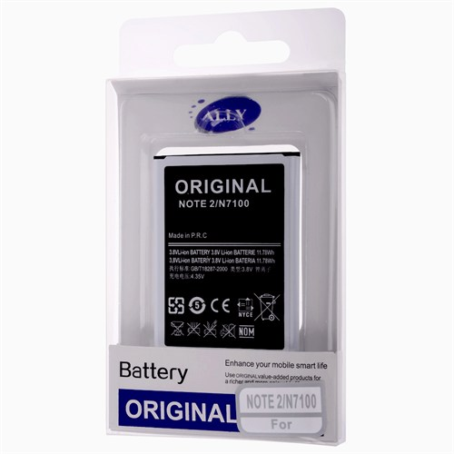 Ally Eb595675lu Galaxy Note 2 N7100 3100Mah Pil Batarya