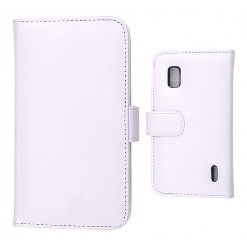 Ally Lg Nexus 4 E960 Cüzdan Kılıf Beyaz