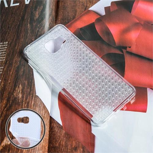Ally Samsung Galaxy A710 A7 (2016) Kristal Soft Silikon Kılıf