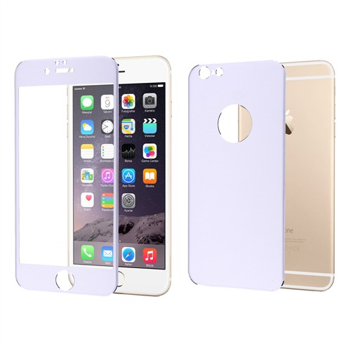 Ally Apple İphone 6/6S Kırılmaz Metal Cam Ekran Ve Arka Metal Koruyucu