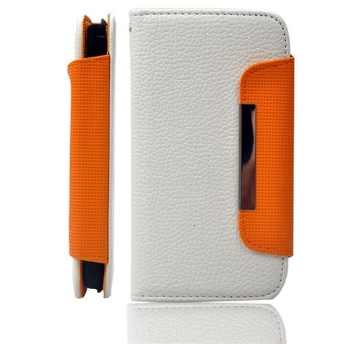 Ally Samsung Galaxy S3 İ9300 Beyaz Cüzdan Kılıf