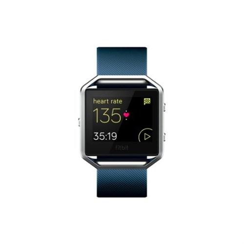 Fitbit Blaze Akıllı Fitness Saati Mavi-Gri