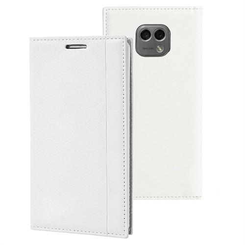 Microsonic Lg X Cam Kılıf Gizli Mıknatıslı Delux Beyaz