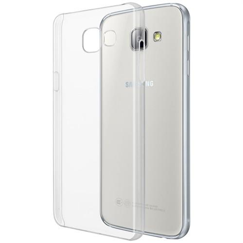 Microsonic Samsung Galaxy A9 2016 Kılıf Kristal Şeffaf