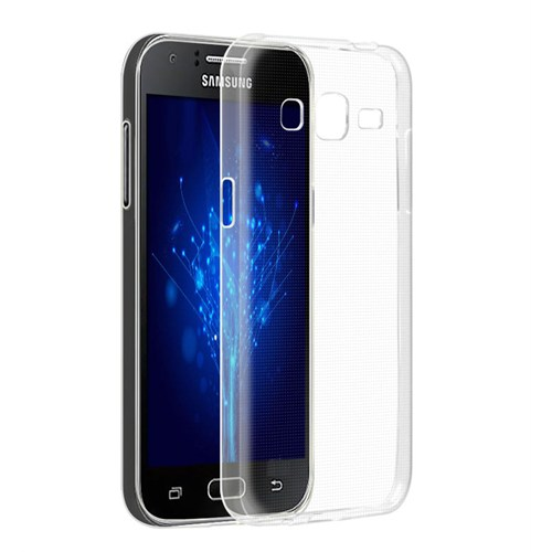 Microsonic Samsung Galaxy J2 Kılıf Kristal Şeffaf