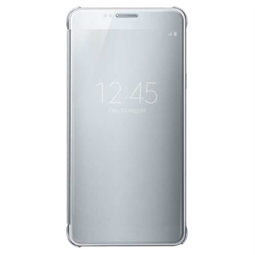 Samsung Galaxy Note5 S-View Flip Cover Clear Silver - Ef-Zn920csegus