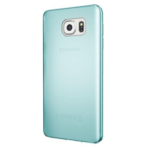 Cepsesuar Samsung Galaxy S7 Kılıf Silikon 0.2 Mm Mavi
