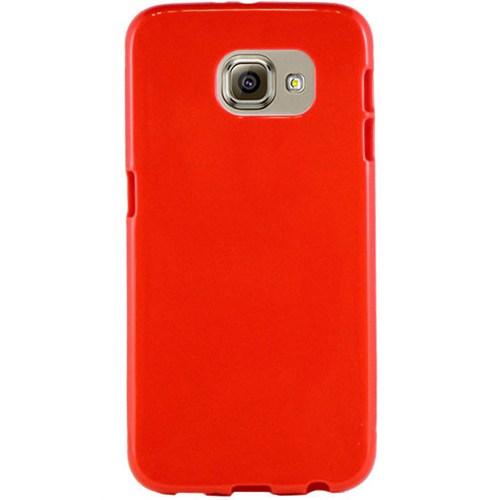 Cepsesuar Samsung Galaxy S7 Edge Kılıf Silikon Kırmızı