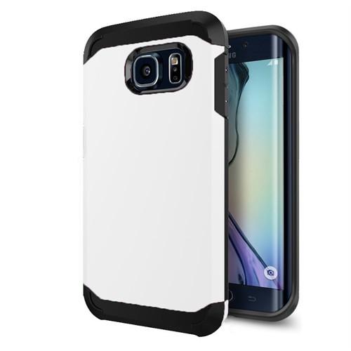 Cepsesuar Samsung Galaxy S6 Edge Kılıf Zzgen Beyaz