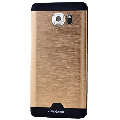 Cepsesuar Samsung Galaxy Note 5 Kılıf Motomo Gold