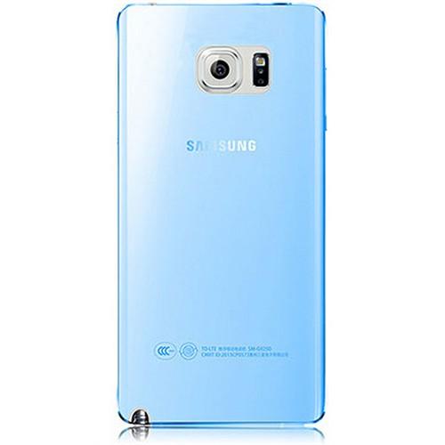 Cepsesuar Samsung Galaxy Note 5 Kılıf Silikon 0.2 Mm Mavi