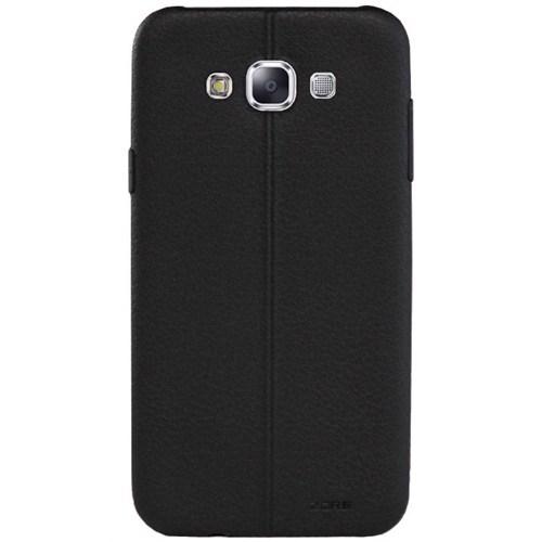 Cepsesuar Samsung Galaxy A5 Kılıf Dikişli Siyah
