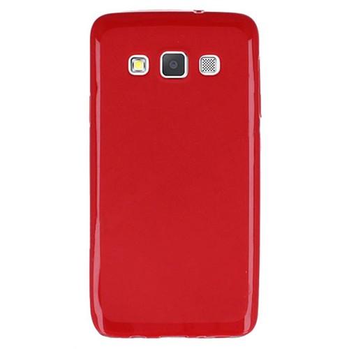 Cepsesuar Samsung Galaxy A5 Kılıf Silikon Kırmızı