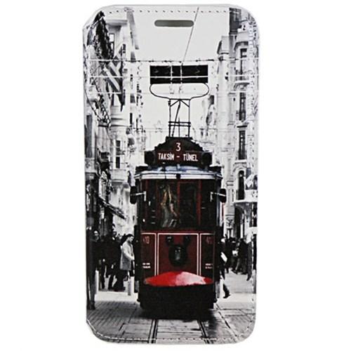 Cepsesuar Samsung Galaxy S6 Kılıf Standlı Tramvay