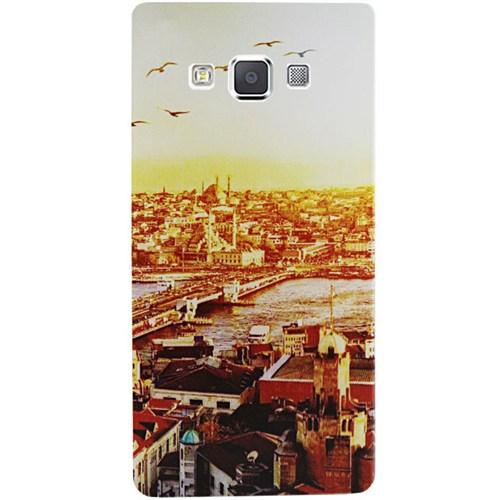 Cepsesuar Samsung Galaxy A7 Kılıf Silikon Desenli Manzara