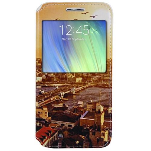 Cepsesuar Samsung Galaxy A7 Kılıf Standlı Manzara