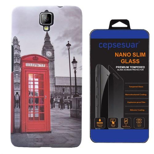 Cepsesuar General Mobile Discovery 2 Kılıf Arka Kapak Telefon + Kırılmaz Cam