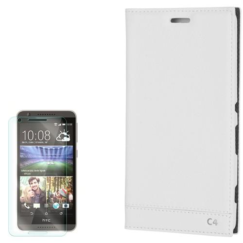 Cep Market Sony Xperia C4 Kılıf Kapaklı Milano Kırılmaz Cam