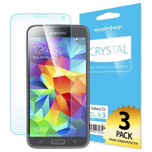 Spigen Sgp Samsung Galaxy S5 LCD Film Crystal CR Ekran Koruyucu