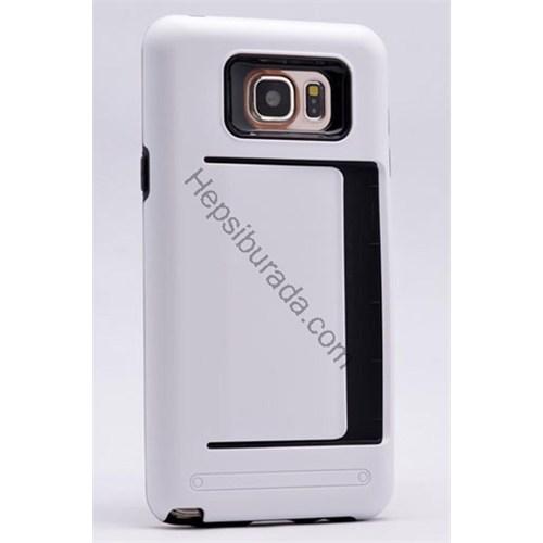 Fonemax Samsung Galaxy Note 5 Korumalı Sert Arka Kapak (Kart Cepli)
