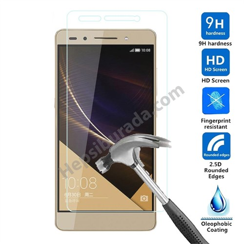 Fonemax Huawei Honor 7 Kırılmaz Cam Ekran Koruyucu