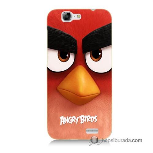 Teknomeg Huawei G7 Kapak Kılıf Angry Birds Baskılı Silikon