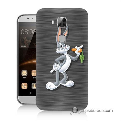 Teknomeg Huawei G8 Kapak Kılıf Bugs Bunny Baskılı Silikon