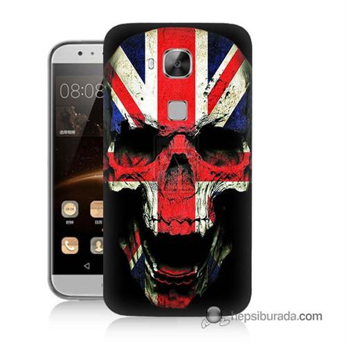Teknomeg Huawei G8 Kapak Kılıf İngiltere Baskılı Silikon
