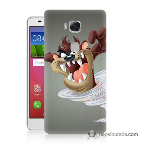 Teknomeg Huawei Gr5 Kapak Kılıf Tazmanya Canavarı Baskılı Silikon