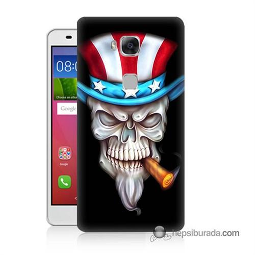 Teknomeg Huawei Gr5 Kapak Kılıf Sam Amca Baskılı Silikon