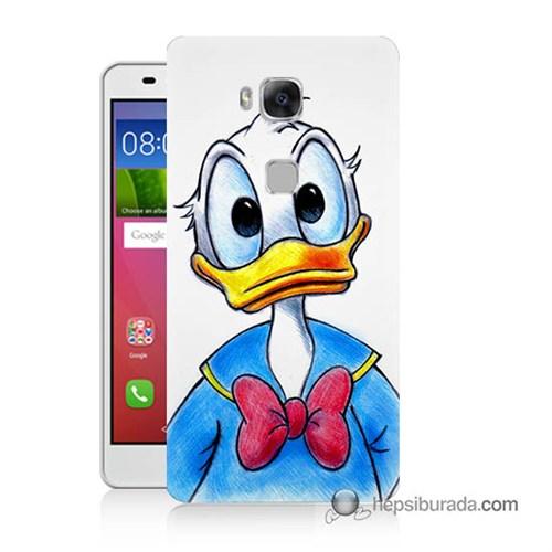 Teknomeg Huawei Gr5 Kapak Kılıf Donald Duck Baskılı Silikon