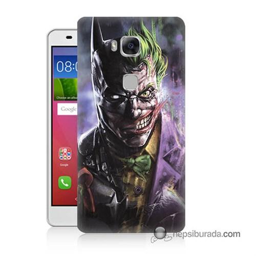 Teknomeg Huawei Gr5 Kapak Kılıf Joker Vs Batman Baskılı Silikon